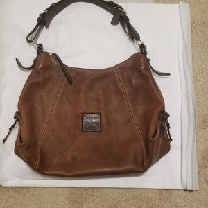 Dooney and Burke leather bag